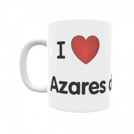 Taza - I ❤ Azares del Páramo