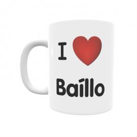 Taza - I ❤ Baíllo