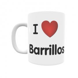 Taza - I ❤ Barrillos