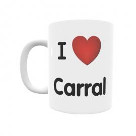 Taza - I ❤ Carral