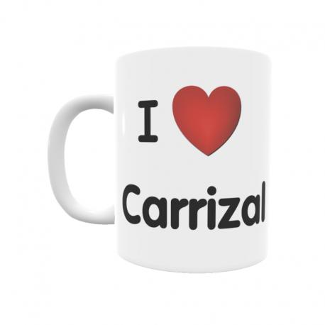 Taza - I ❤ Carrizal