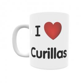 Taza - I ❤ Curillas