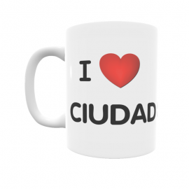 Taza - I ❤ Ciudad Real