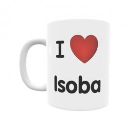 Taza - I ❤ Isoba