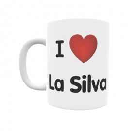 Taza - I ❤ La Silva