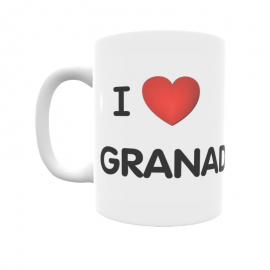 Taza - I ❤ Granada