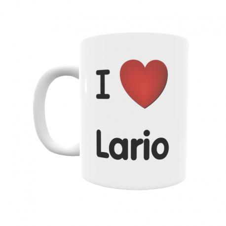 Taza - I ❤ Lario