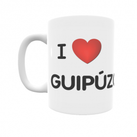 Taza - I ❤ Guipúzcoa
