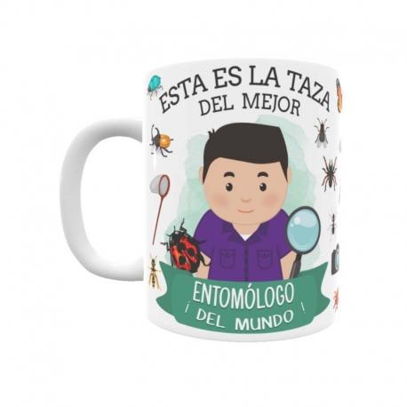 Taza - Entomólogo