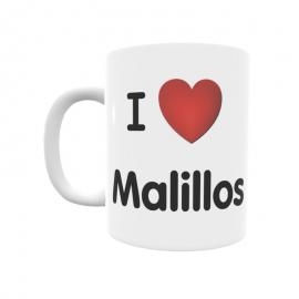 Taza - I ❤ Malillos