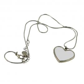 Colgante cadena Corazón - Bisutería