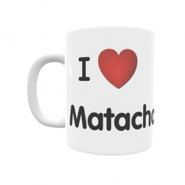 Taza - I ❤ Matachana