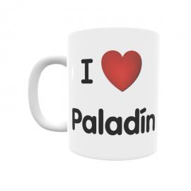 Taza - I ❤ Paladín