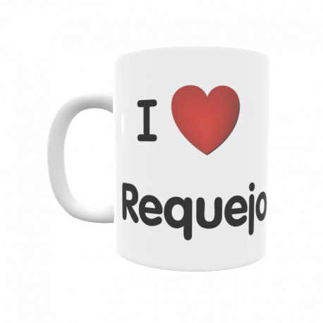 Taza - I ❤ Requejo