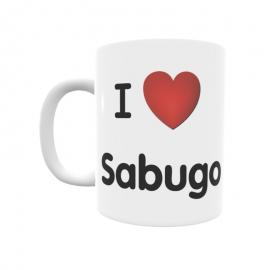 Taza - I ❤ Sabugo