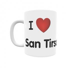 Taza - I ❤ San Tirso