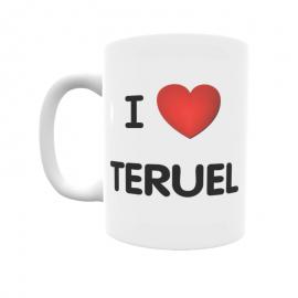 Taza - I ❤ Teruel
