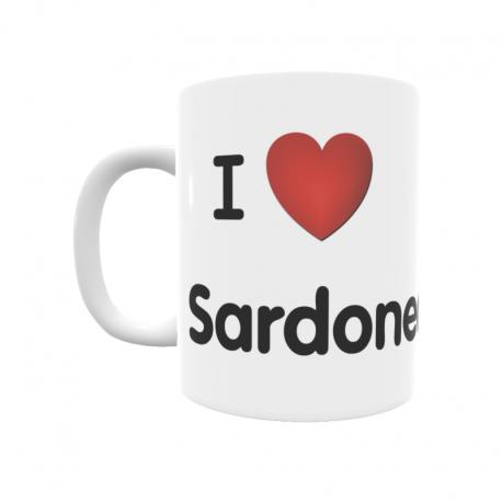 Taza - I ❤ Sardonedo