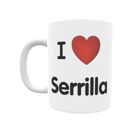 Taza - I ❤ Serrilla