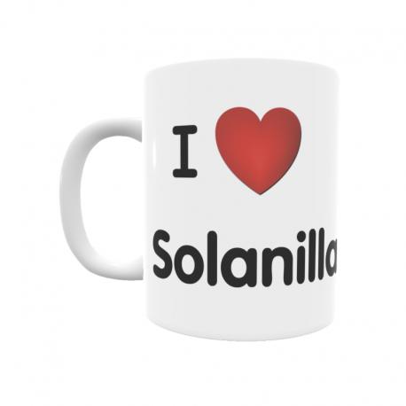 Taza - I ❤ Solanilla