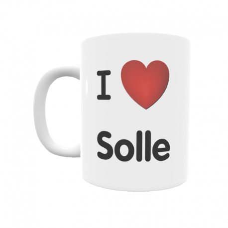 Taza - I ❤ Solle