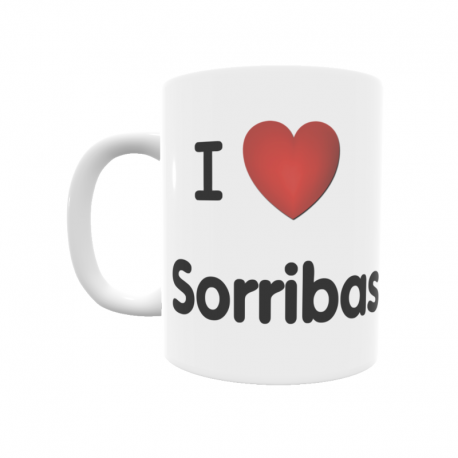 Taza - I ❤ Sorribas