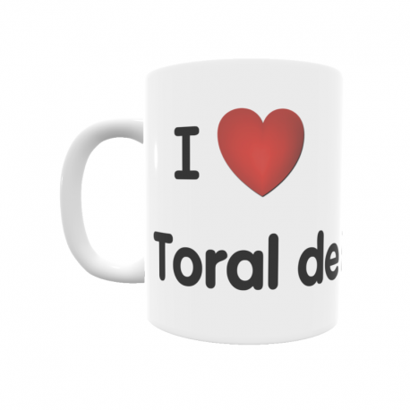 Taza - I ❤ Toral de Merayo