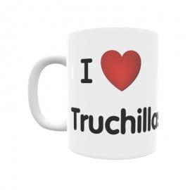 Taza - I ❤ Truchillas