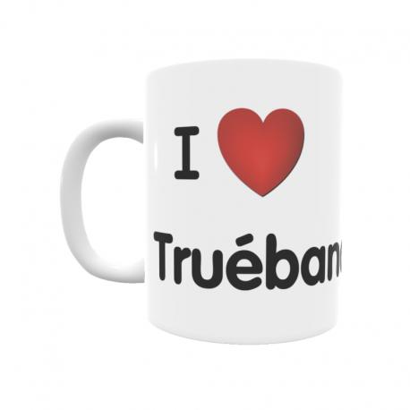 Taza - I ❤ Truébano