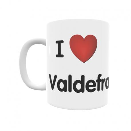Taza - I ❤ Valdefrancos