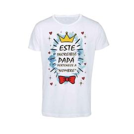Camiseta personalizada con foto