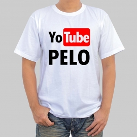 Camiseta personalizada - Yo tube Pelo