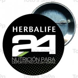 Chapa 58 mm HERBALIFE - Herbalife deportistas 24