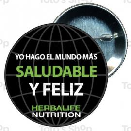 Chapa 58 mm HERBALIFE - Herbalife mundo saludable y feliz