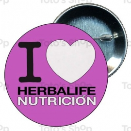 Chapa 58 mm HERBALIFE - I love herbalife