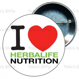 Chapa 75 mm HERBALIFE - I love Herbalife