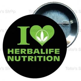 Chapa 75 mm HERBALIFE - I love Herbalife