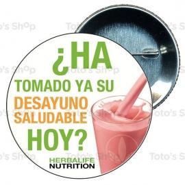Chapa 75 mm HERBALIFE - Desayuno saludable Herbalife