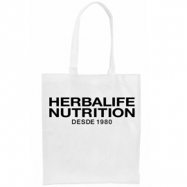 Bolsa personalizada herbalife non-woven