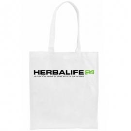 Bolsa personalizada herbalife DEPORTISTA 24 non-woven