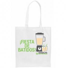 Bolsa personalizada herbalife FIESTA BATIDORA non-woven