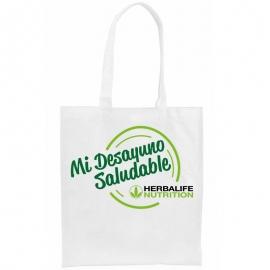 Bolsa personalizada herbalife DESAYUNO SALUDABLE non-woven