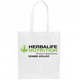 Bolsa personalizada herbalife MIEMBO INDEPENDIENTE non-woven
