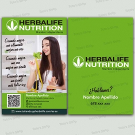 flyer herbalife asesor independiente