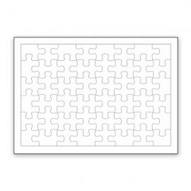 Puzzle personalizado con foto en Madera MDF 48 Piezas con marco