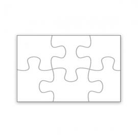 Puzzle personalizado con foto en Madera MDF 6 Piezas
