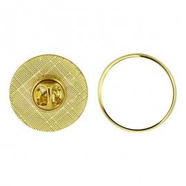 pin metálico personalizado con foto, logo, escudo, asociación, cofradía