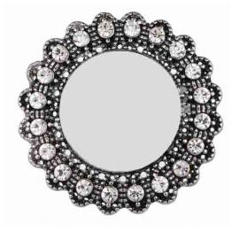 broche metálico personalizado con foto, logo, escudo, asociación, cofradía