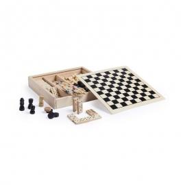 juego de madera personalizado mikado, ajedrez, damas