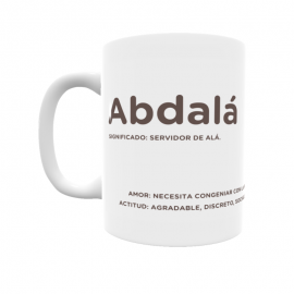 Taza - Abdalá